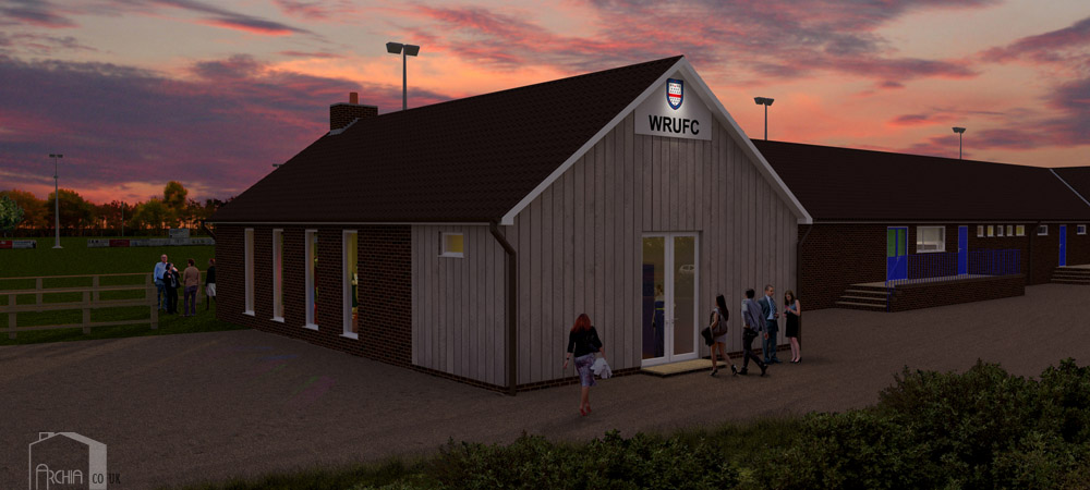 Woodbridge RUFC Hall Extension