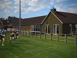WRUFC Hall Extension
